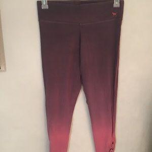 VS Pink Gradient Leggings